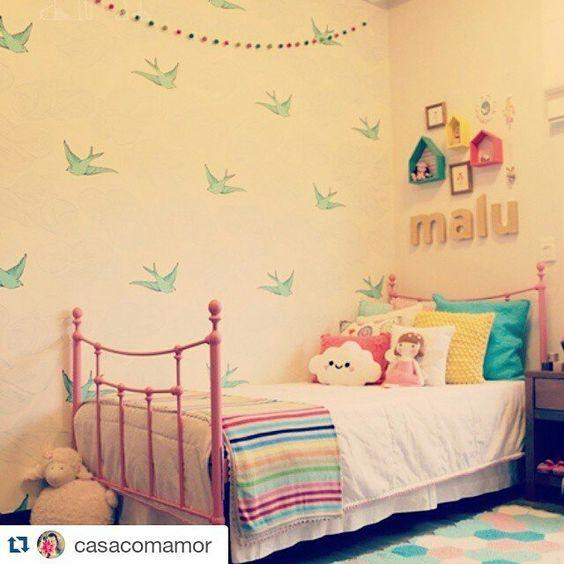 Decoracion paredes dormitorios top dormitorios infantiles for Decoracion infantil barata