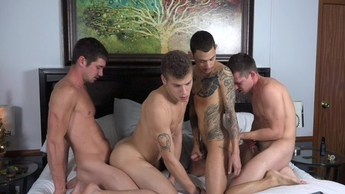 4Play – Colby Chambers, Corbin Colby, Jae Gorgeous & Mickey Knox