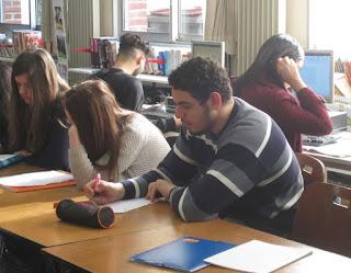 Les difficultés et les joies de l'écriture au lycée Saint-Martin de Roubaix
