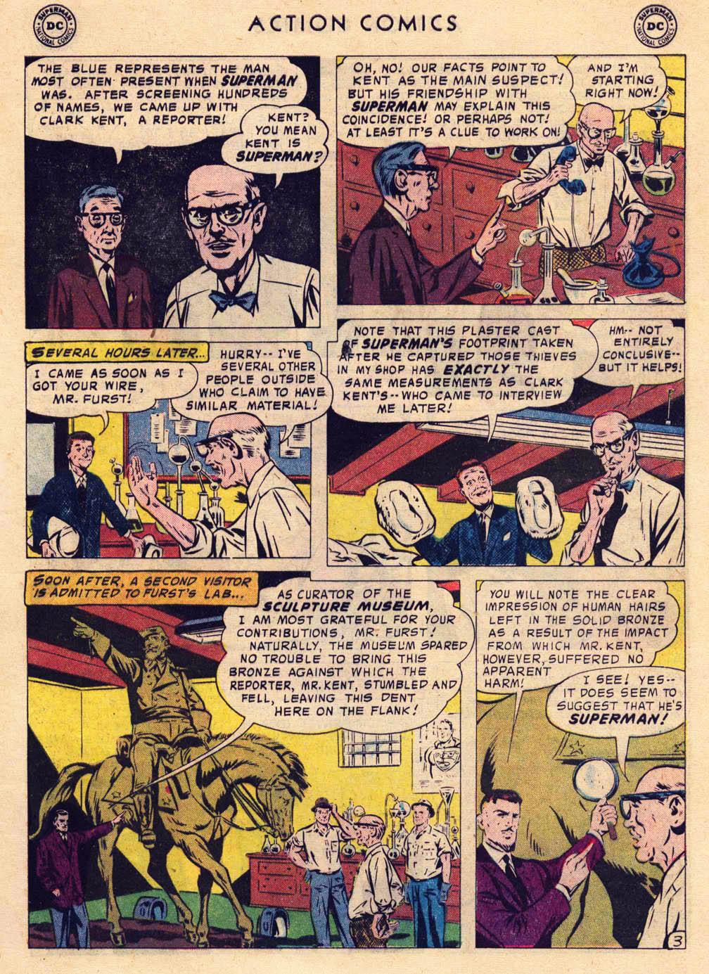 Read online Action Comics (1938) comic -  Issue #237 - 5