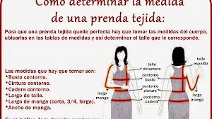 Como calcular las medidas de las prendas tejidas