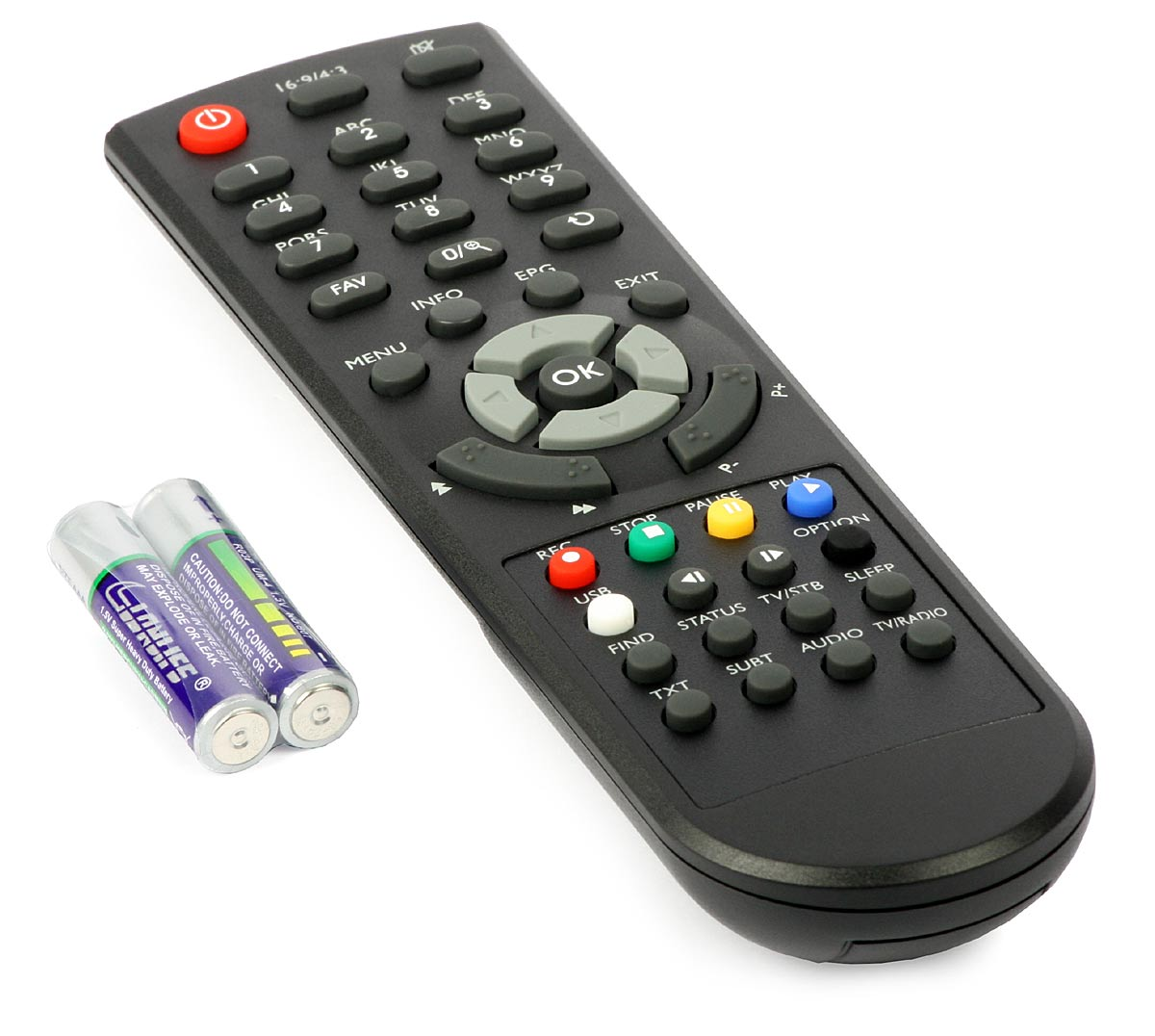 Universal Remote AMAZONE for DVD