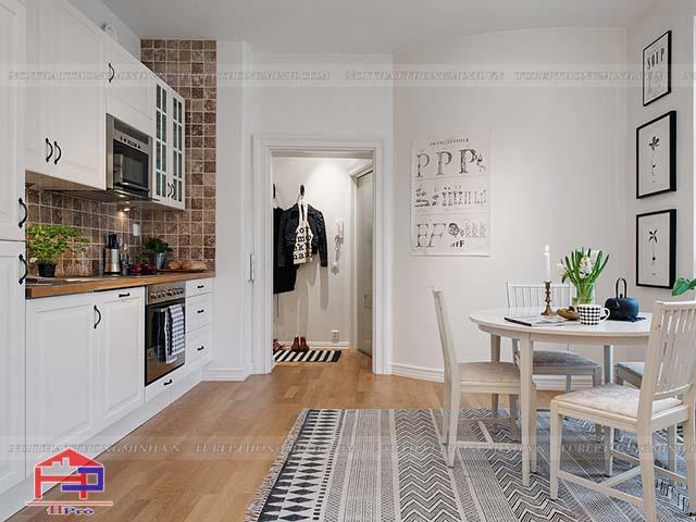 thiết kế phòng bếp đẹp rẻ