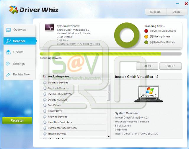 Driver Whiz (Falso optimizador)