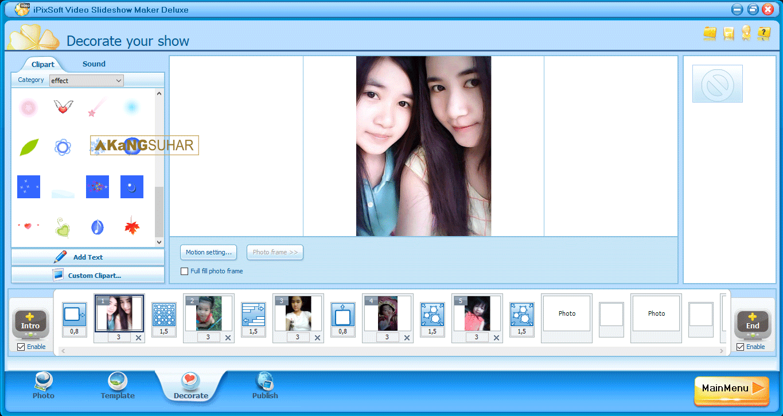 ipixsoft video slideshow maker serial key