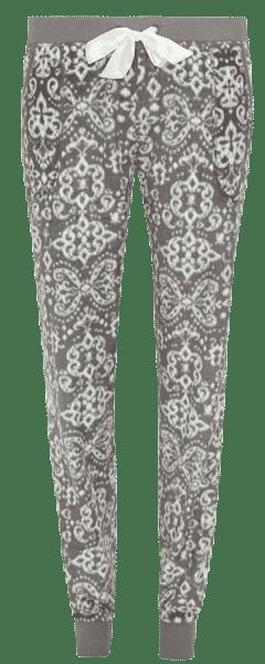 Pantalones de pijama en gris de mujer