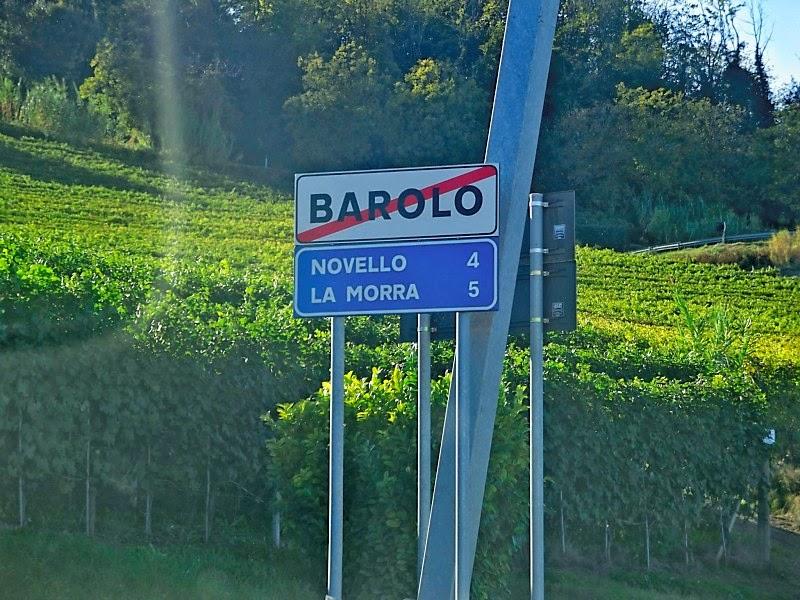 Barolo, La Morra, Novello in Piedmont