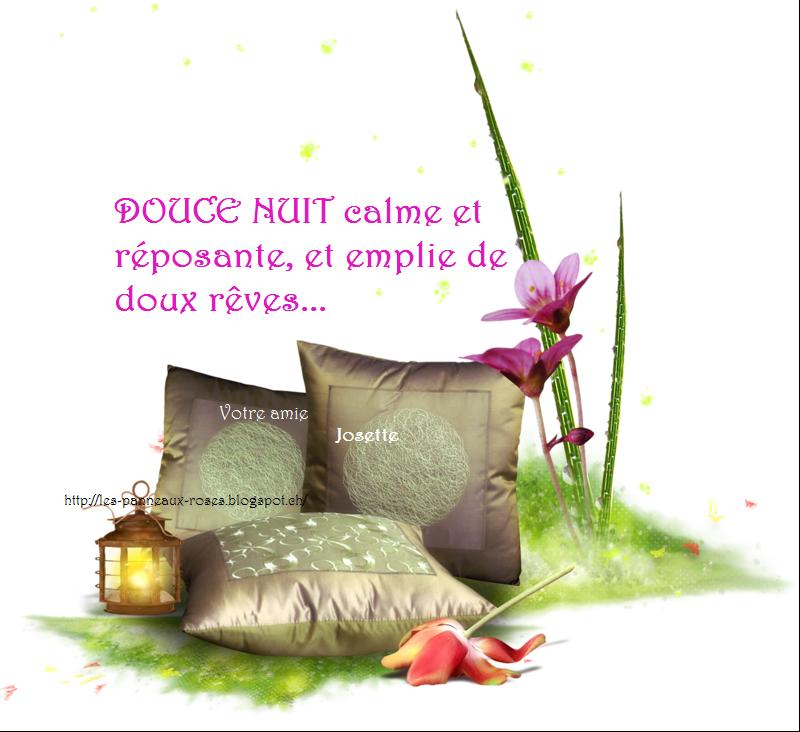 les panneaux roses de josette sauthier bonne nuit et doux. Black Bedroom Furniture Sets. Home Design Ideas