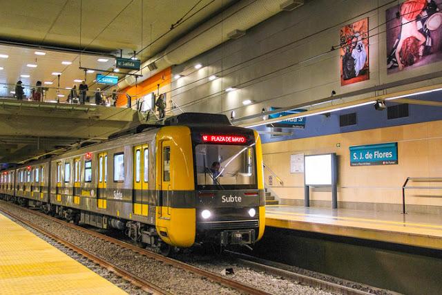 Quanto dinheiro levar para transporte em Buenos Aires
