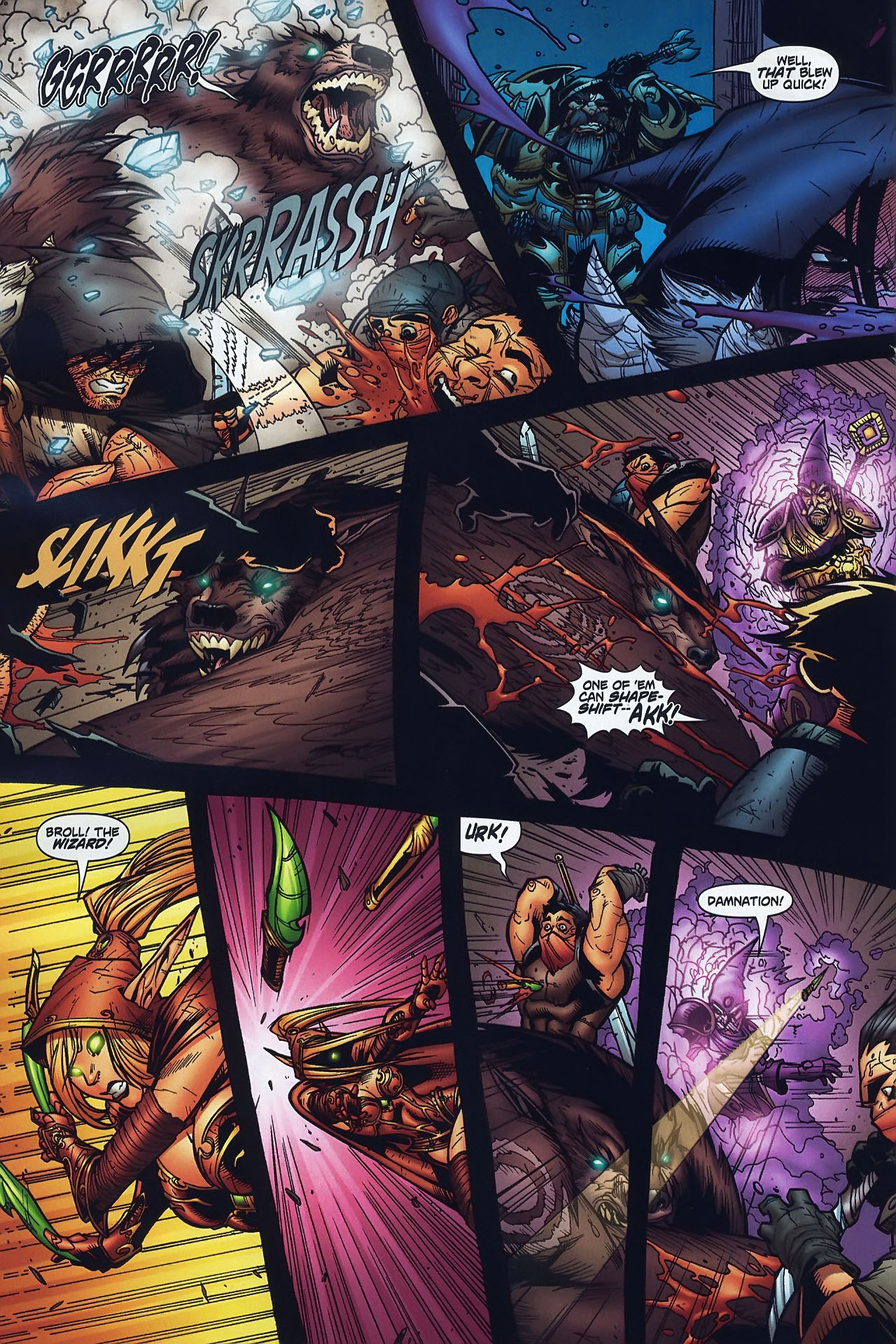 Read online World of Warcraft comic -  Issue #8 - 13