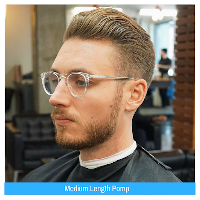 Medium Length Pomp, Model Rambut Pria, Model Rambut Terbaru,