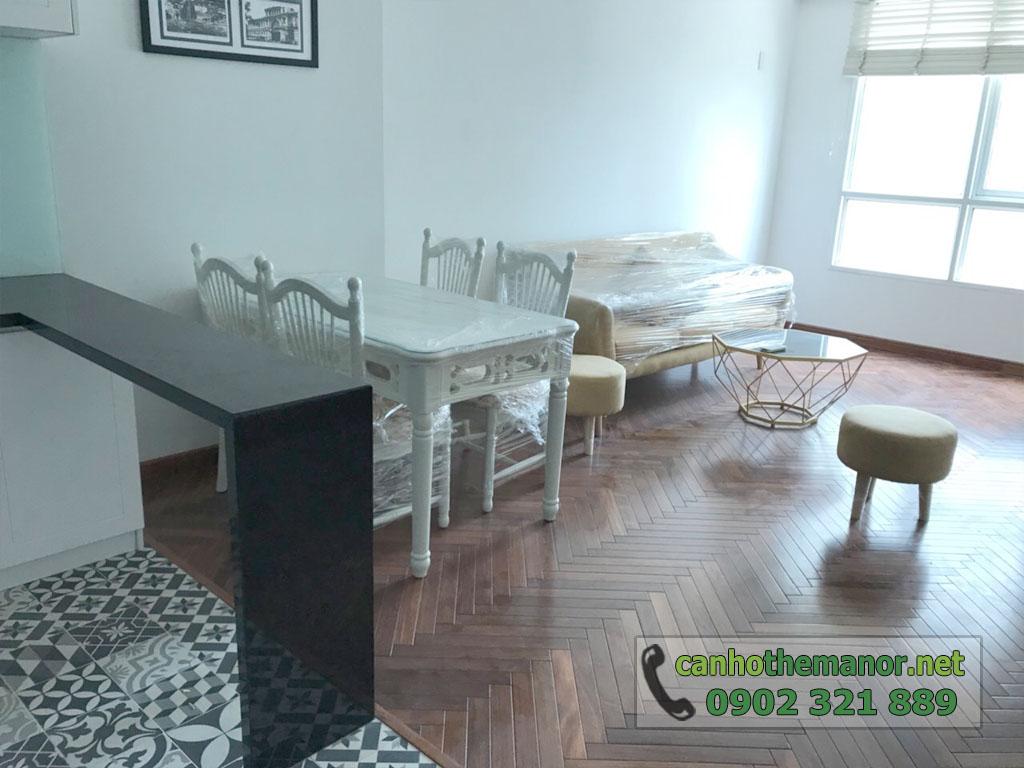 bán the manor hcm 2 phòng ngủ nội thất mới và cao cấp - hình 2