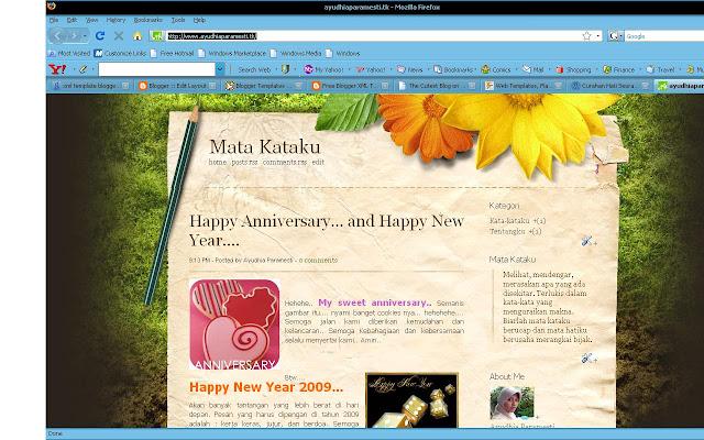 Hasil gambar untuk contoh tampilan blog