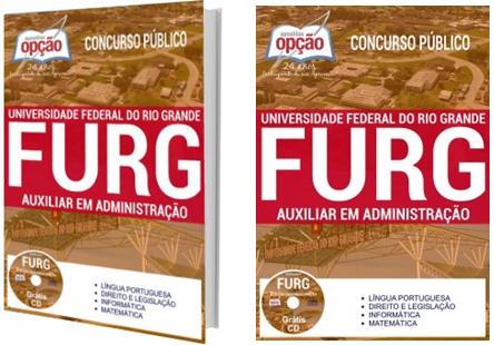 Apostila concurso FURG 2017 - Auxiliar em Administração