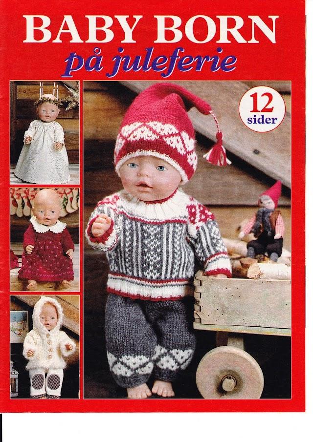 Baby Born -Revista Tricô e Costura Bonecas