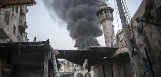 100 Orang Meninggal di Suriah dalam Serangan Udara Jelang Gencatan Senjata AS-Rusia