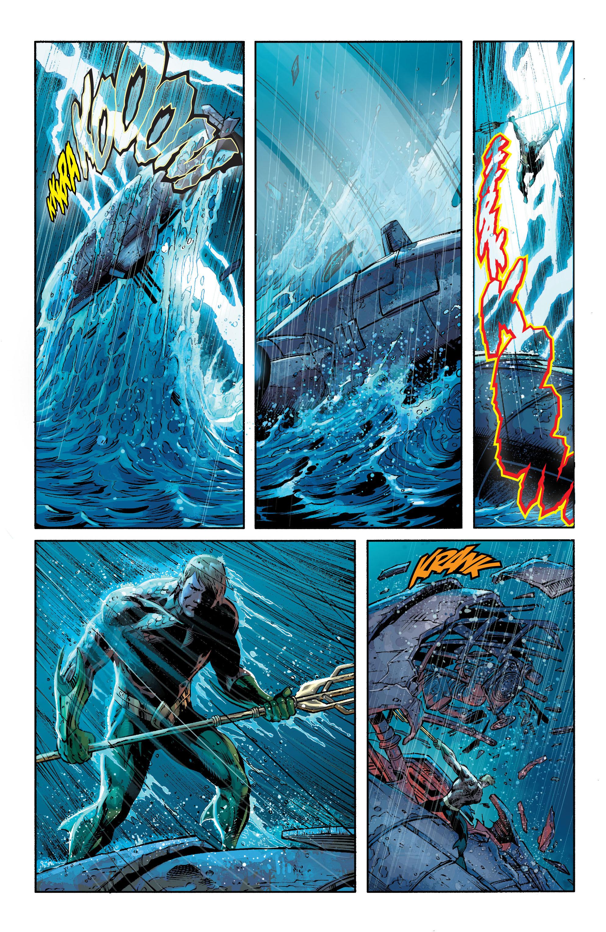 Read online Aquaman (2011) comic -  Issue #21 - 8