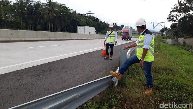 Terlalu! Ratusan Tiang Pagar Pengaman Jalan Tol di Boyolali Dicuri