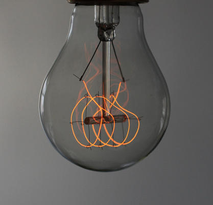 Quad Loop Light Bulb from Nook London