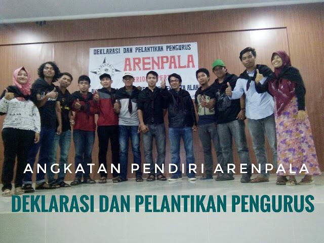 Deklarasi dan Pelantikan Pengurus Arenpala