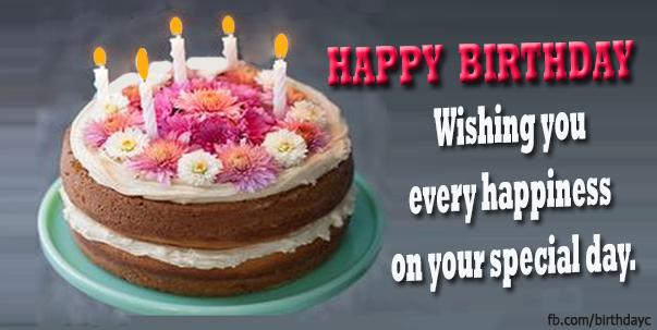 Happy Birthday Wishes Card
