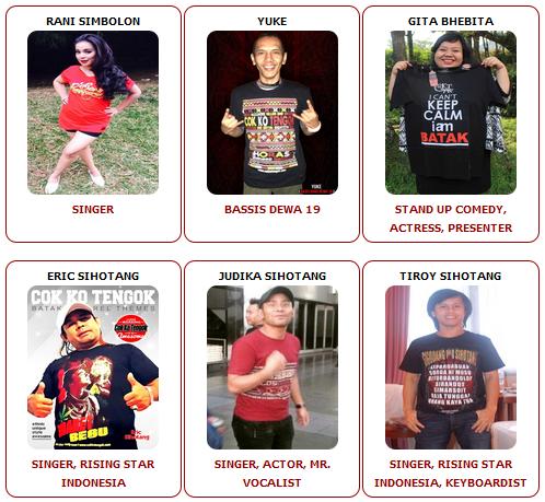 Artis Support Jual Kaos Batak Online