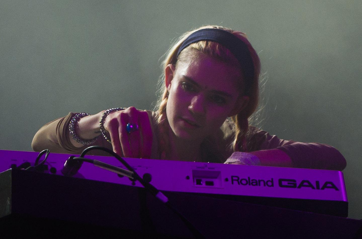 Jeremy's Indie Music: Grimes, Manchester HMV Ritz, August