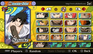 Naruto Senki Ultimate Ninja Heroes 3 Mod by Tutorial Production Apk