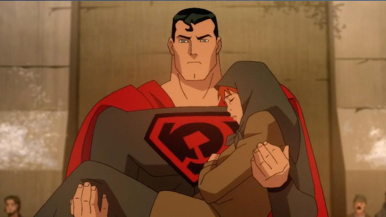 Superman Red Son Animated Film 2020