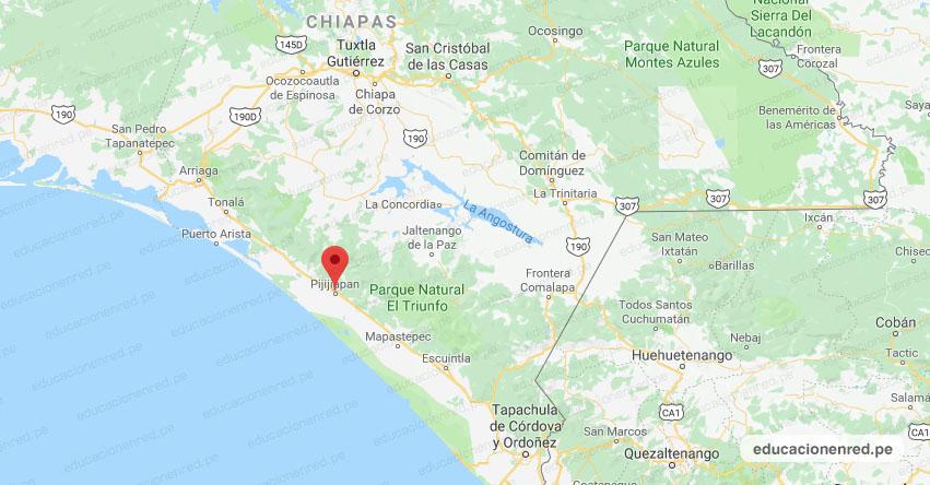 Temblor en México de Magnitud 4.1 (Hoy Miércoles 15 Julio 2020) Sismo - Epicentro - Pijijiapan - Chiapas - CHIS. - SSN - www.ssn.unam.mx