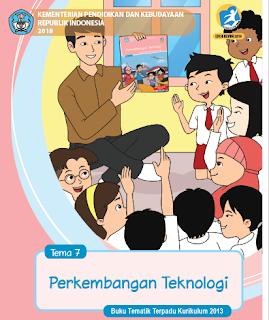 gambar buku tematik kelas 3 semester 2 tema 7 edisi revisi 2018
