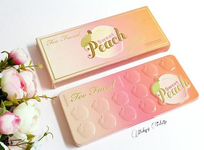 too faced sweet peach palet incelemesi