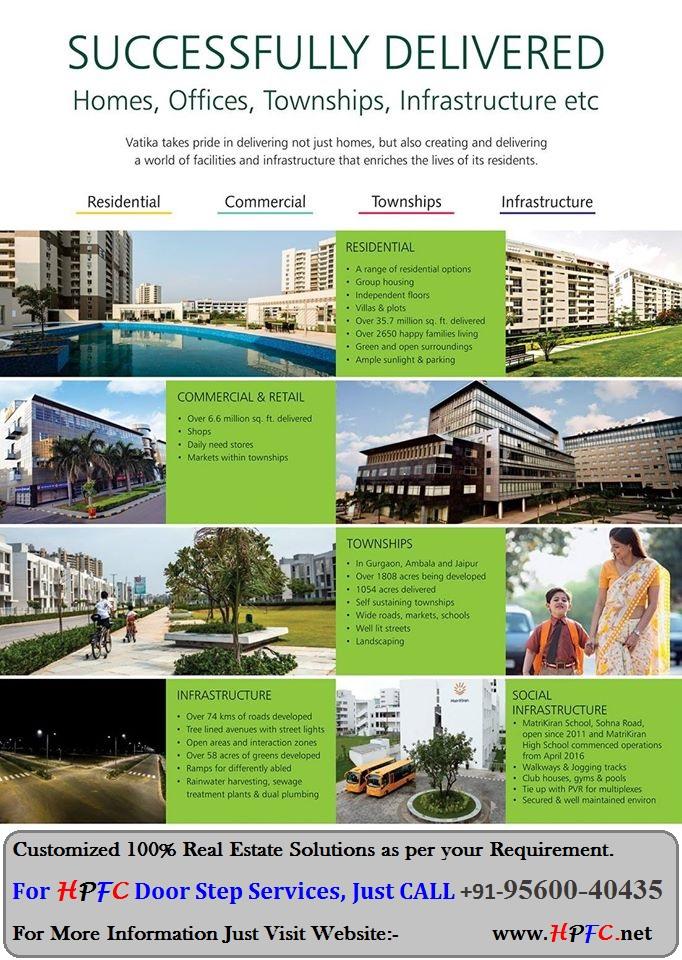 Vatika Group Residential Commercial Townships Gurgaon