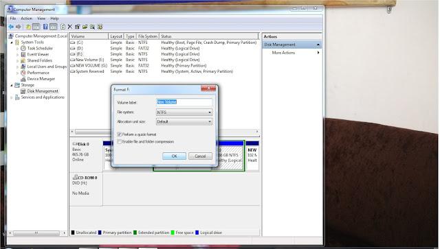 Corrupted USB Flash Drive SD Card