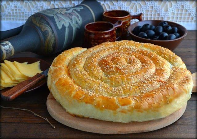 Слоёный пирог «по-деревенски»