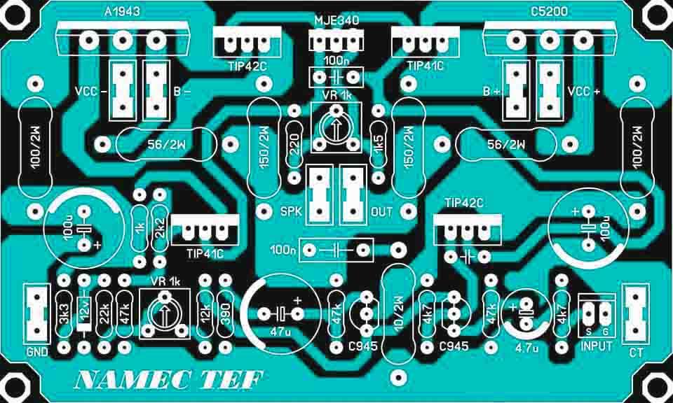 Power Amplifier Namec : 1000w driver power amplifier namec tef electronic circuit ~ Russianpoet.info Haus und Dekorationen