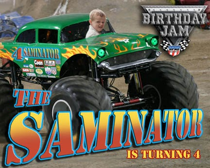 Id Mommy Diy Monster Truck Birthday Party