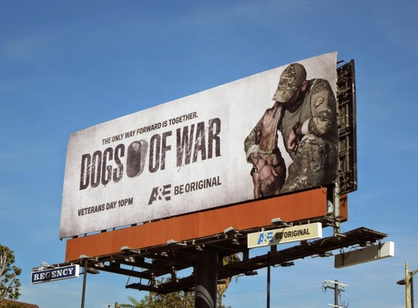 Dogs of War season 1 billboard