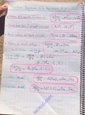 résumé (7) mécanique du point smpc s1