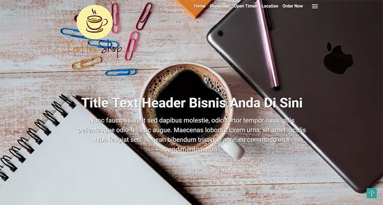 Template Premium Landing Page Blogger Dengan AMP HTML