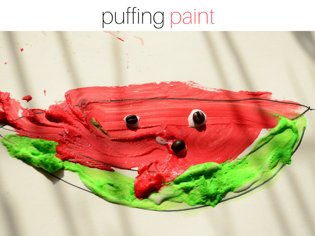 Got Bored Kids? 17 Practical Mom Ideas to try right away! Puffing Paints