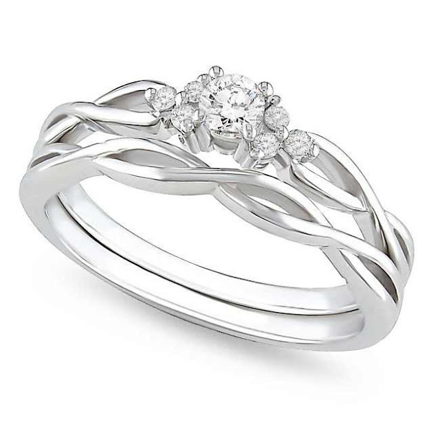 Cheap Bridal Set Wedding Rings