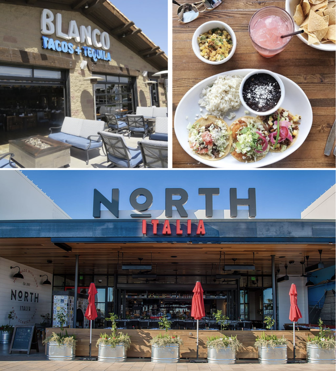 From The Group Behind True Food Kitchen Blanco Tacos Tequila North Italia Are Heading Into San Go S Fashion Valley Mall