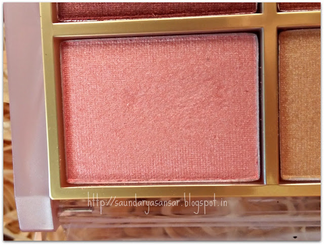 Lakme 9to5 Eye color Quartet: Desert Rose