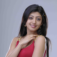 Pranitha in red dress