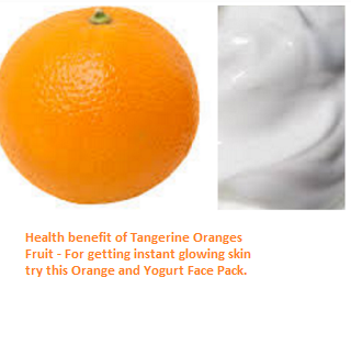 Tangerine Oranges (Fruit) -  Skin Whitening Qualities