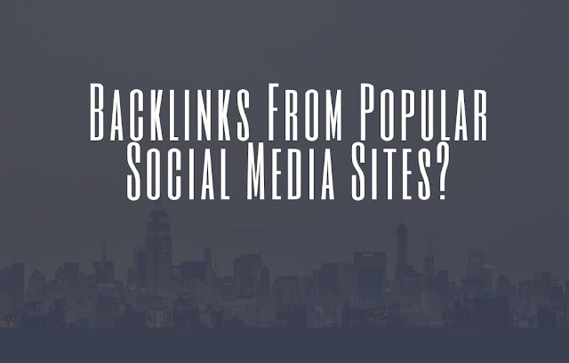 Social Media Backlinks