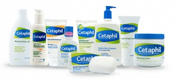 Harga resmi produk perawatan kulit Cetaphil.