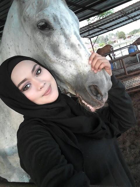 Aktiviti Berkuda di Kampung Penchalang || Hanna 1