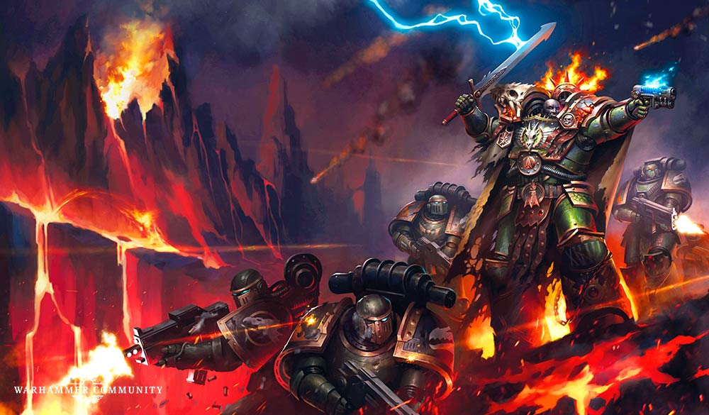Faeit 212: Warhammer 40k News and Rumors: Great Artwork and